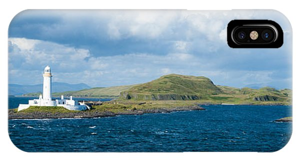 Eilean Musdale Lighthouse IPhone Case