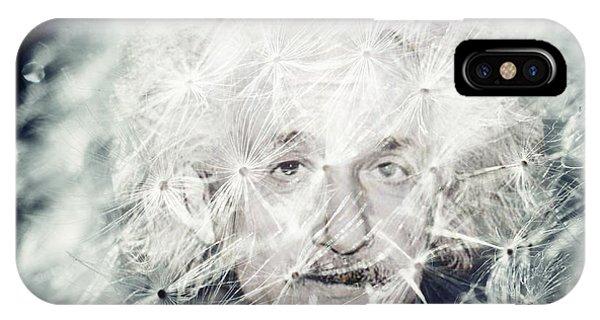 Einstein Dandy IPhone Case