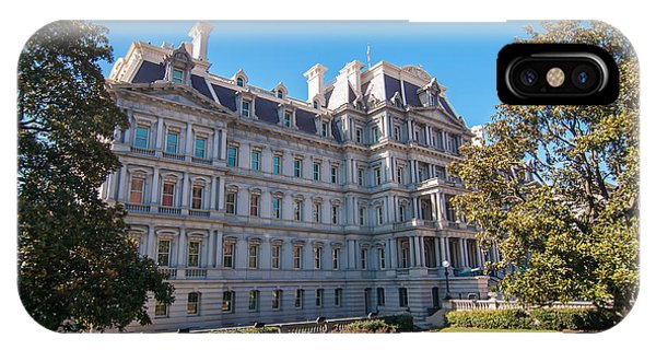 Eisenhower Executive Office Building In Washington Dc IPhone Case