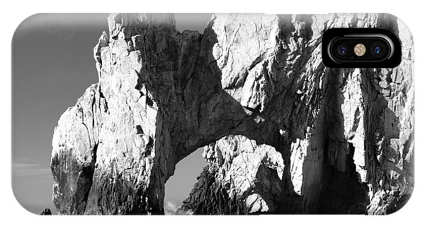 El Arco In Black And White IPhone Case