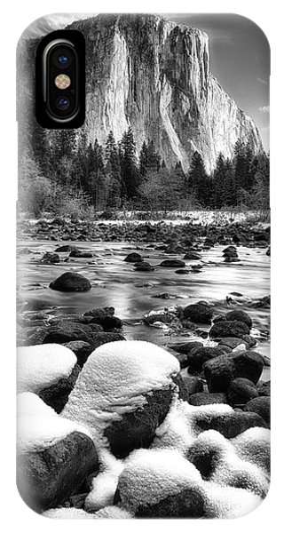 El Cap And Snow IPhone Case