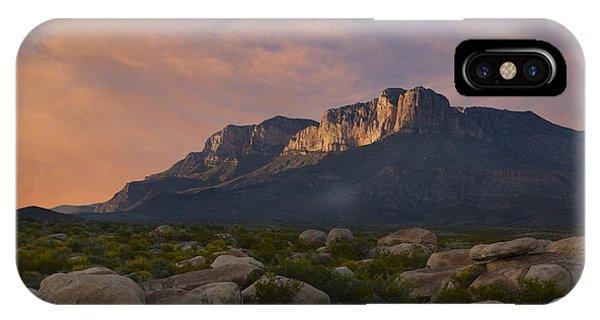 El Capitan Sunset IPhone Case