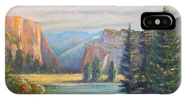 El Capitan  Yosemite National Park IPhone Case