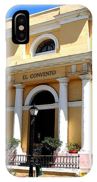 El Convento Hotel IPhone Case