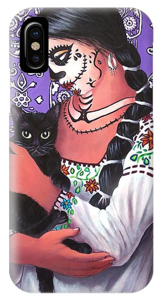 El Gato Negro IPhone Case