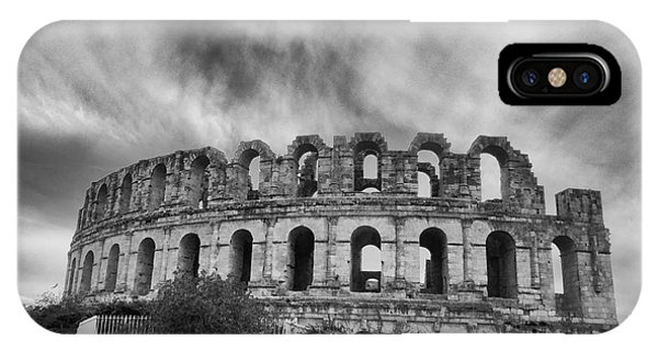 El Jem Colosseum 2 IPhone Case
