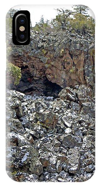 El Malpais Cave Entrance 2 IPhone Case