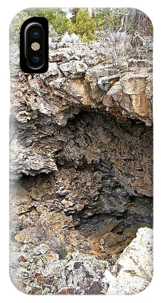 El Malpais Cave Entrance 3 IPhone Case