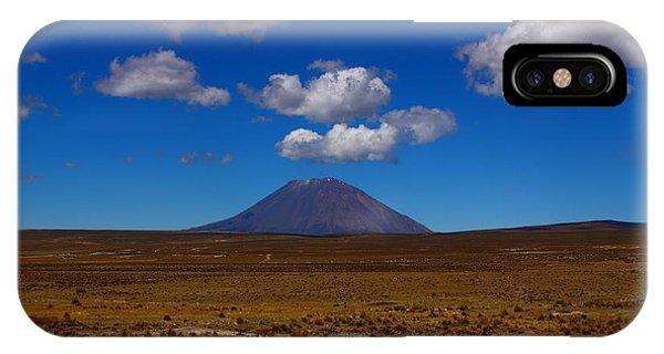 Peru iPhone Case - El Misti by FireFlux Studios