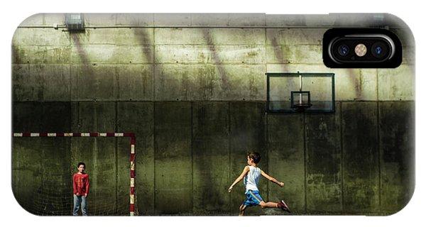 Action iPhone X Case - El Momento by Pedro Bada