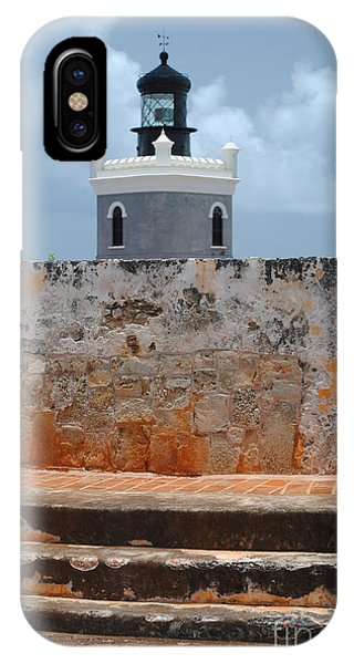 El Morro Light Tower IPhone Case
