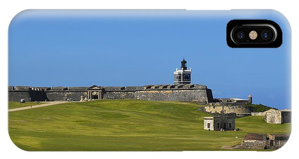 El Morro Panorama IPhone Case