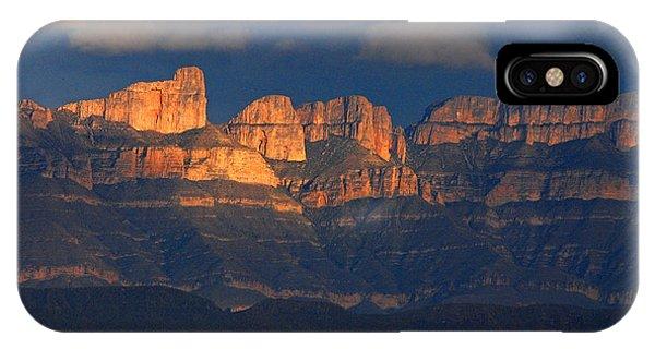 El Pico And Sierra Del Carmen IPhone Case