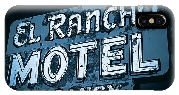 El Rancho Motel IPhone Case
