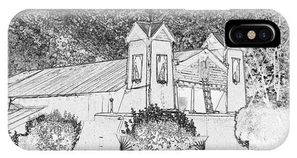 El Santuario Chimayo IPhone Case