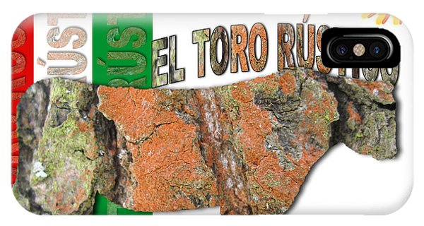 El Toro Rustico IPhone Case