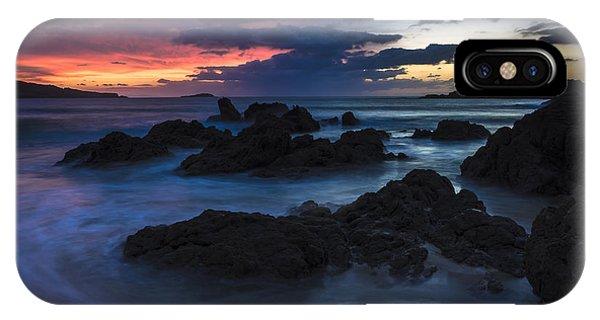 El Villar Beach Galicia Spain IPhone Case
