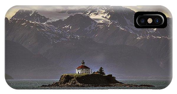 Eldred Rock Lighthouse Alaska IPhone Case