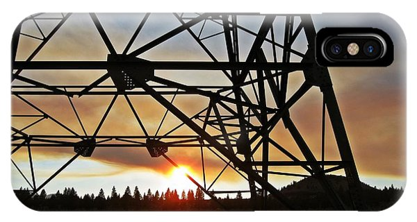 Elecrical Tower Architecture IPhone Case