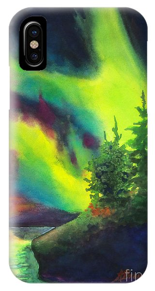 Electric Green In The Sky 2 IPhone Case