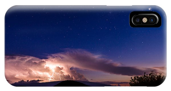 Electric Heavens 1 IPhone Case