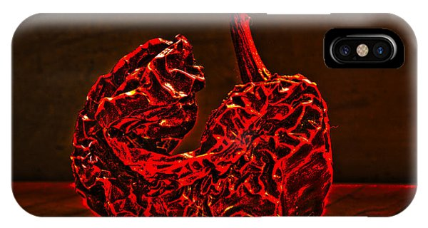 Electric Red Pepper IPhone Case