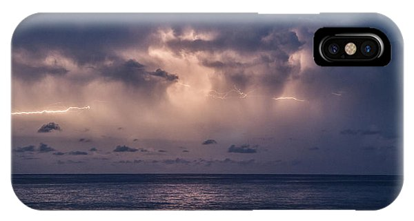 Electric Skys IPhone Case