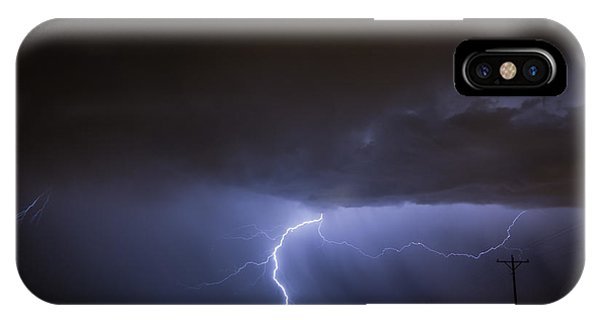 Greg Moore iPhone Case - Electric Summer by Greg Moore