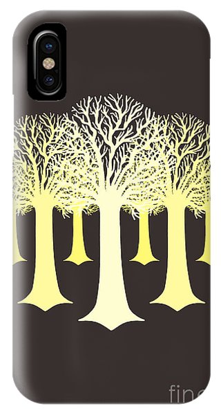 Electricitrees IPhone Case