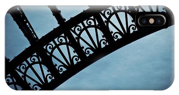 Iron iPhone Case - Electrify - Eiffel Tower by Melanie Alexandra Price