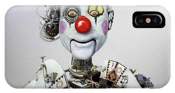 Industrial iPhone Case - Electronic Clown by