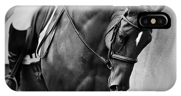 Elegance - Dressage Horse IPhone Case