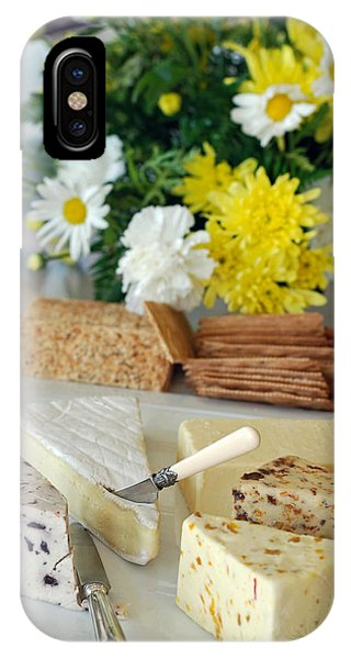 Elegant Cheese Buffet IPhone Case