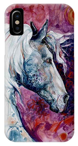 Elegant Horse IPhone Case