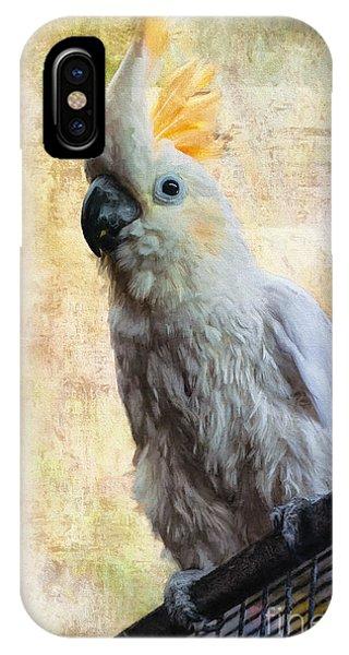 Cockatoo iPhone Case - Elegant Lady by Lois Bryan