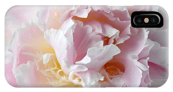 Elegant Pink Peony IPhone Case