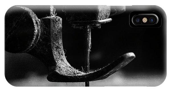 Needles iPhone Case - .....element Sewing Machine..... by Johanes Januar