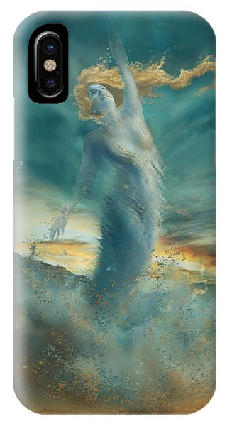 Cassiopeiaart iPhone Case - Elements - Wind by Cassiopeia Art