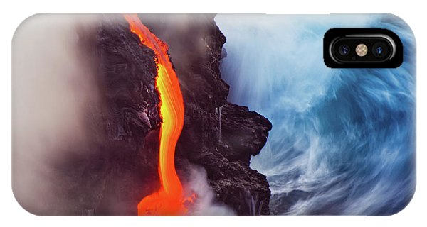 Flow iPhone Case - Elements Of Nature by Andrew J. Lee