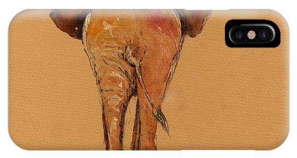 Elephant Back IPhone Case