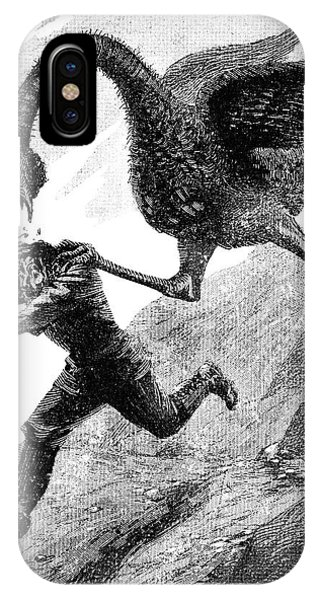 Elephant Bird Attack Phone Case by Science Photo Library