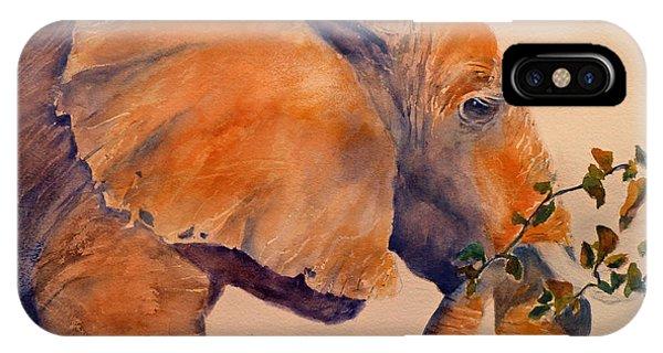 Elephant Eating IPhone Case