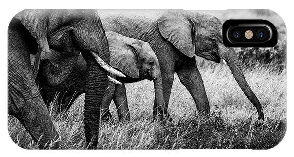 Elephant Family Phone Case by Vedran Vidak