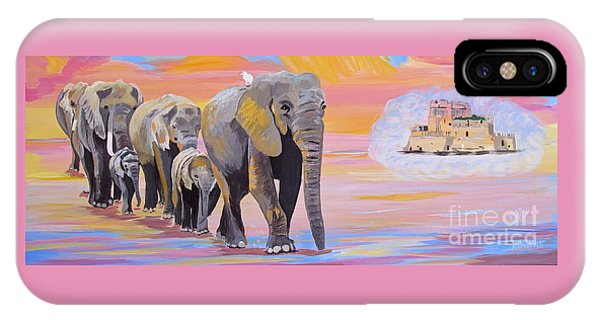 Elephant Fantasy Must Open IPhone Case