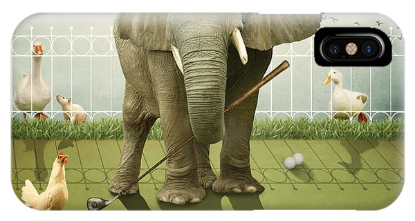 Elephant Golf IPhone Case