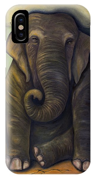 Elephant In The Room IPhone Case