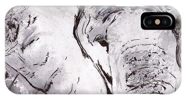 iPhone Case - Elephant by Michael Rados