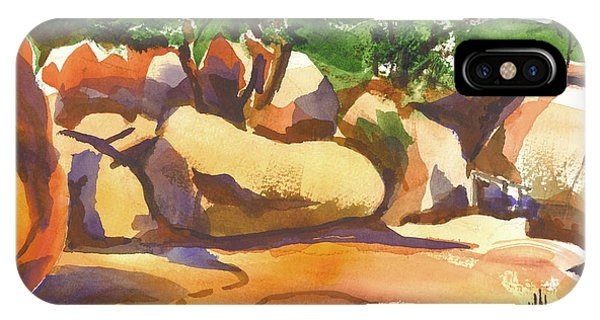 Elephant Rocks Revisited I IPhone Case
