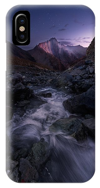 River Flow iPhone Case - Elevated by Hillary Younger