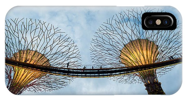 Elevated Walkway Among Supertrees IPhone Case